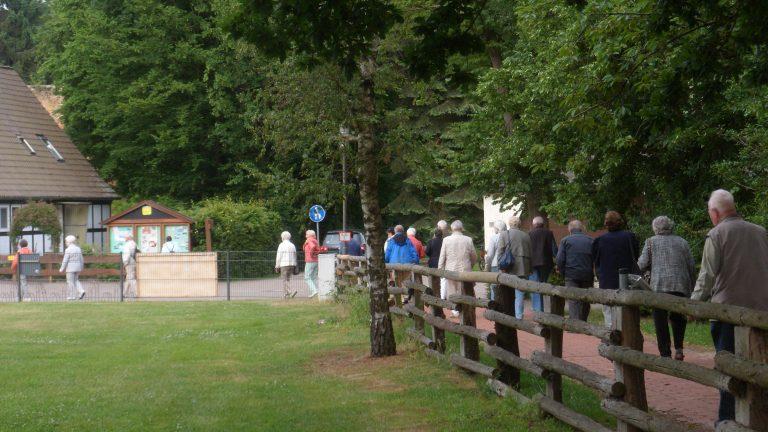Besuch des Museums-Hofes in Rahden
