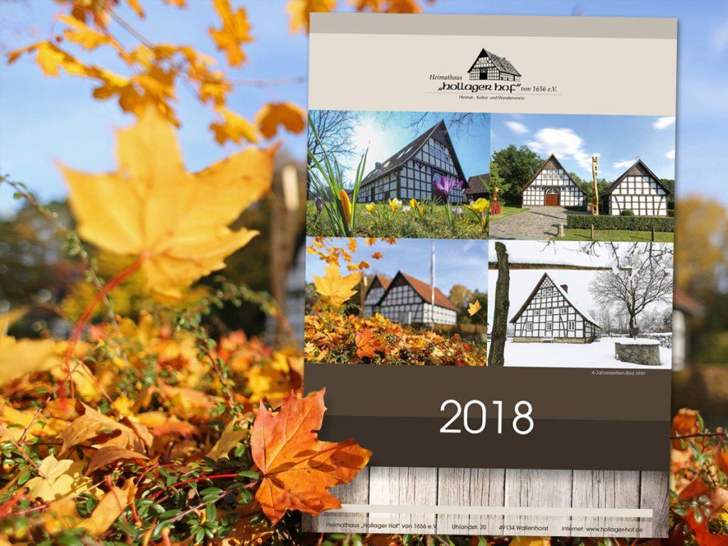Heimathauskalender 2018