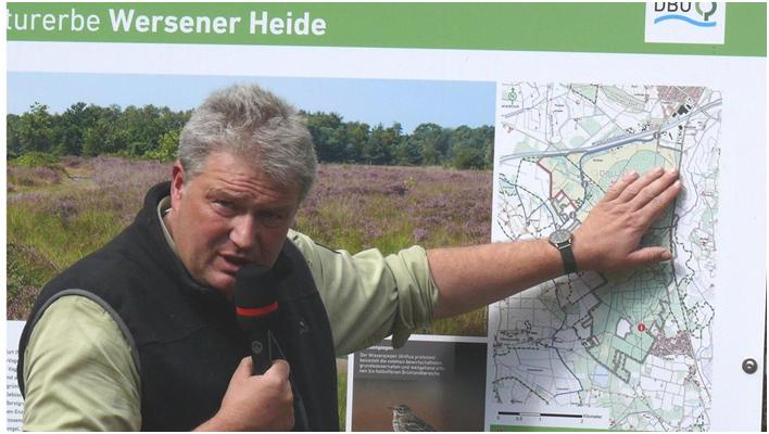 Wo einst Panzer durch die Landschaft pflügten: Wersener Heide