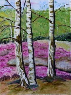 Gemäldeausstellung der Malerin Margret Koers