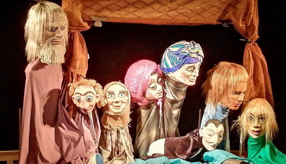 Puppen im Hollager Hof
