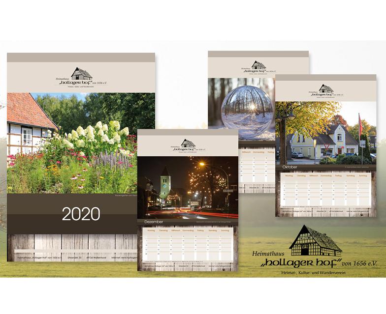 Der Heimathauskalender 2020 ist da !